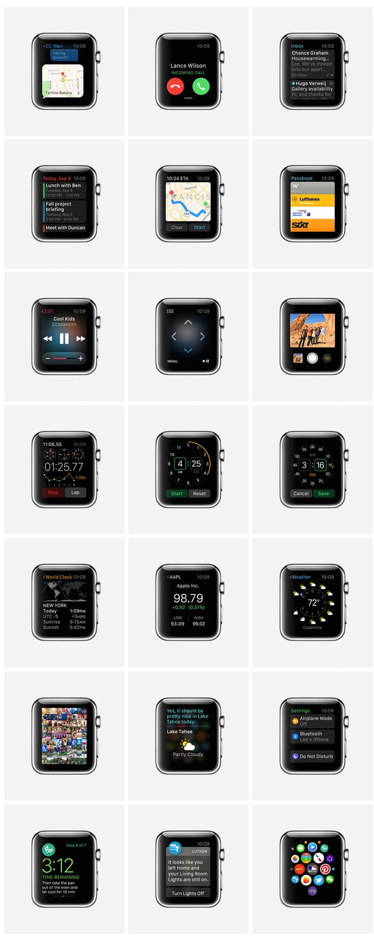 Présentation de l'#AppleWatch d'#Apple