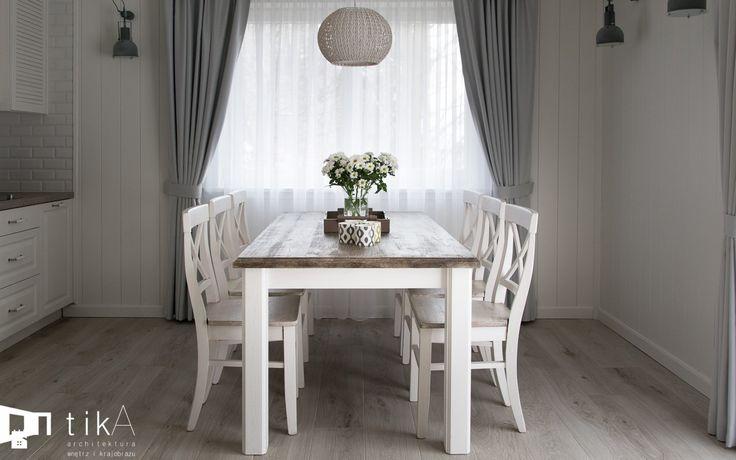 Jadalnia styl Skandynawski - zdjęcie od TIKA Architektura wnętrz i krajobrazu - Jadalnia
