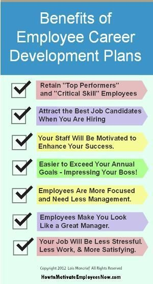 benefits of career development for employees