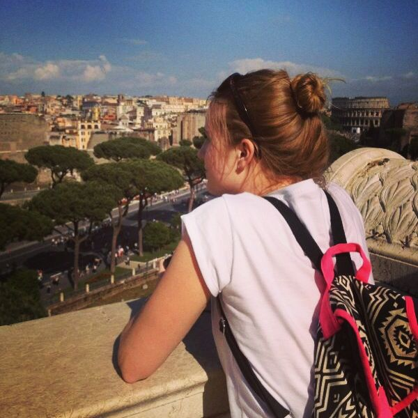 Year ago today I was on my way to Rome and the best 3 weeks of my life!