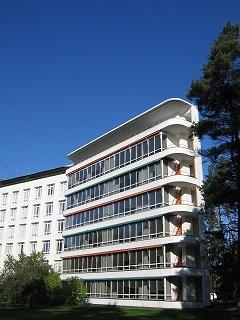 Paimio Sanatorium 1, close to my homecity Turku.