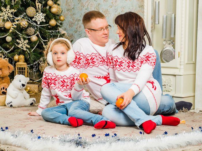 Детские семейные фотосессии