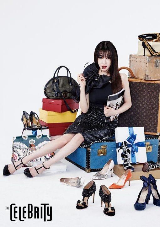 SNSD Girls' Generation 'THE CELEBRITY' Magazine Photoshoot July 2015 | KPOPGIRLSININDIA