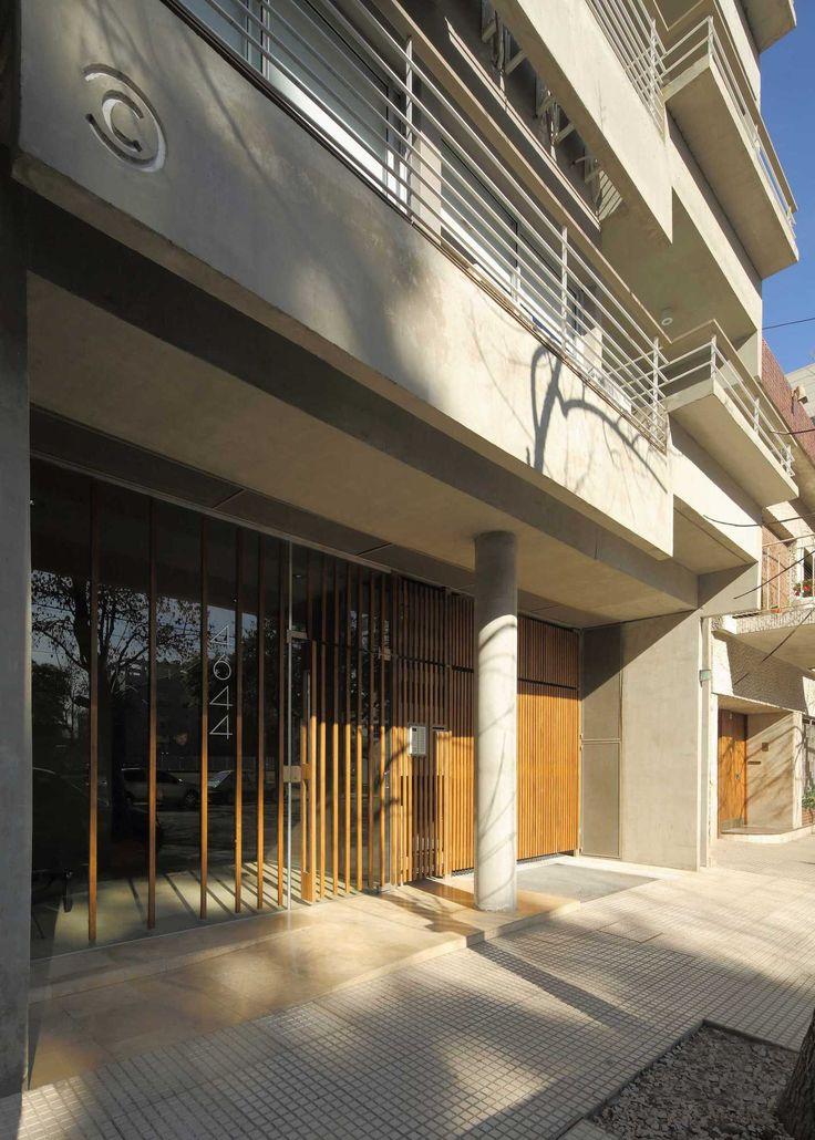 MONROE | Proyecto C. Autores: Arq. Sebastián Cseh - Arq. Juan Cruz Catania.  #arquitectura  #architecture  #hall #entrada