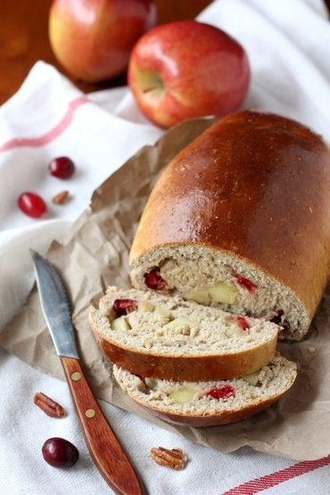 Apple Cranberry Bread | Red Star Yeast