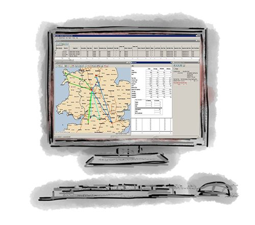 Roadnet - Routing Software for Delivery Companies  Roadnet is routing software for delivery companies that allows distributors to tackle a variety of challenges faced daily in logistics intensive environments. Tight time windows, rising fuel costs, organising high order volumes, fluctuating traffic conditions and managing resources can all be effectively managed using routing software for delivery companies.
