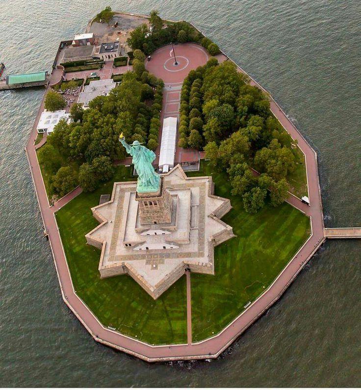 Isla de la Estatua de la Libertad NYC