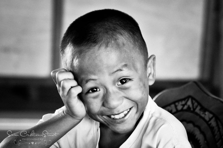 Somnuk, who lives in a Thai orphanage very happy after an intense playtime!  (photo: courtesy of Susan Crichton Stuart)  The Foundation for Developing and Supporting Children is dedicated to helping orphans have a better life in Chiang Mai.