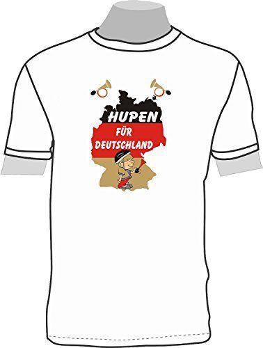 Hupen für Deutschland: T-Shirt