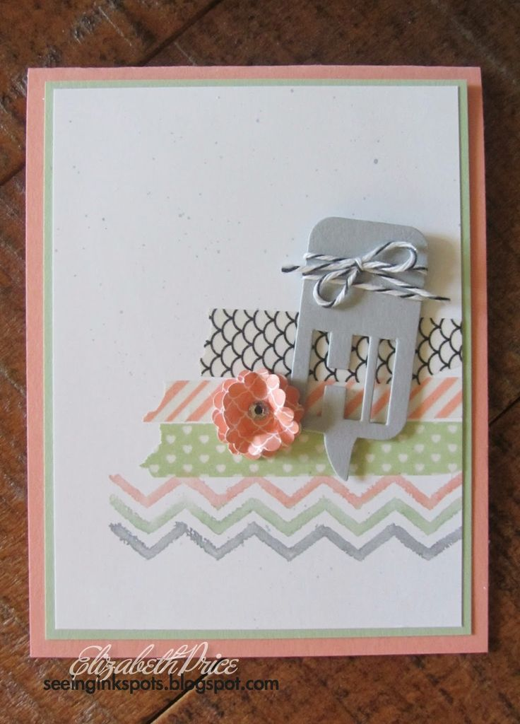 I Like Little LettersCards I D, Cards Ideas, Stampinup Com, Birthday Cards, Stampin Up, Tape Cards, Washi Tape, Cards Ect, Art Stamps