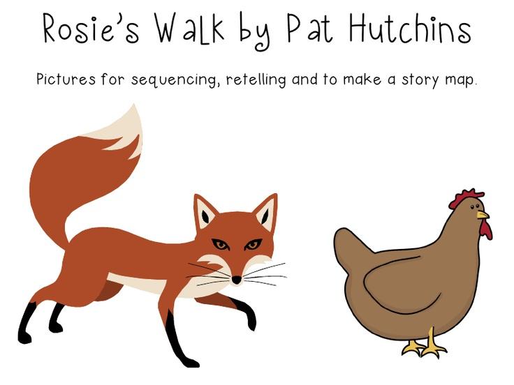 Rosie's walk: Yea! Clip art I like, too :)