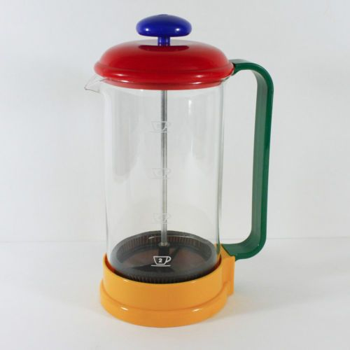 Post-Modern-Plastic-Coffee-French-Press-BMF-Color-Block-Postmodern-Germany