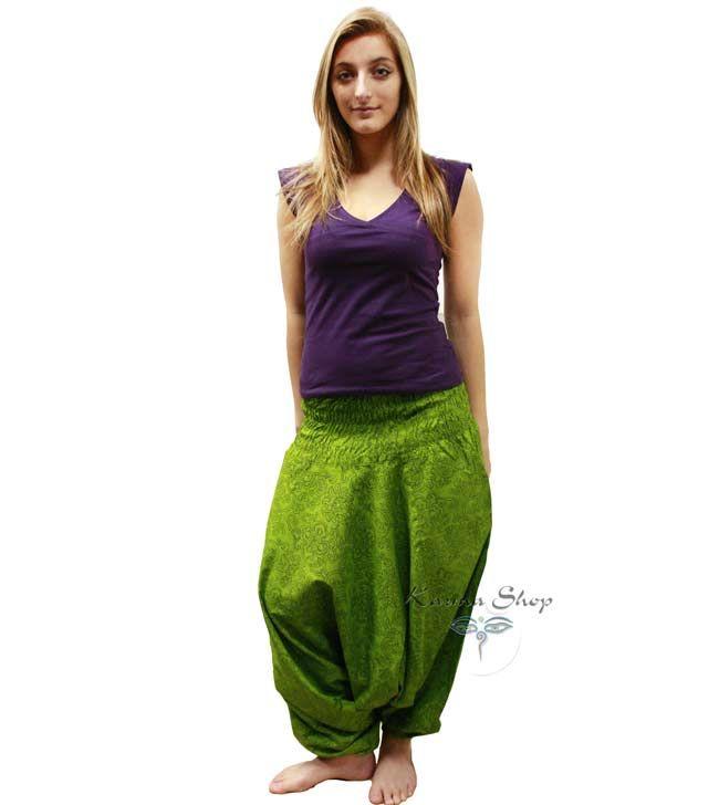 Pantaloni arabi a fiori karmashop