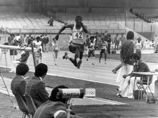 Claudine Petroli/Estadão - João do Pulo quebrou o recorde mundial do salto triplo e ganhou medalha de ouro no Pan do México em 1975