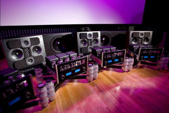 The Center Channel Array - 1.1 of 8.8 Surround Sound Digital Audio Channels.