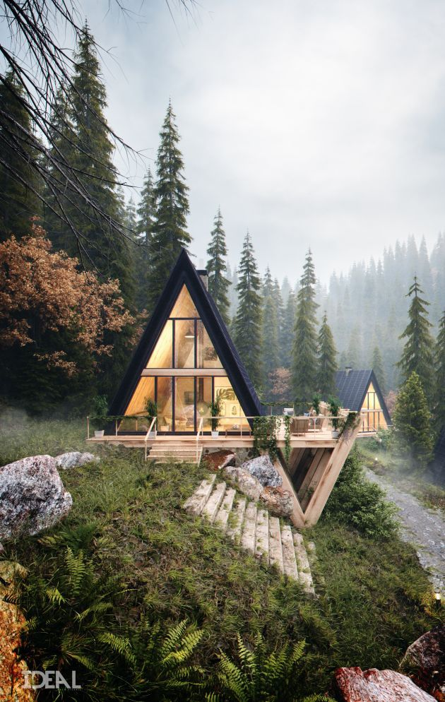 CGarchitect – Professional 3D Architectural Visualization User Community   Cabins 9/50