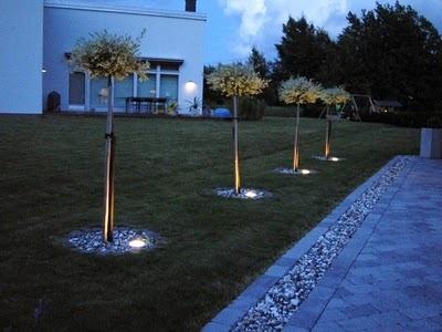 PROJEKT MUSTARASTAS: Belysning fasad och trädgård