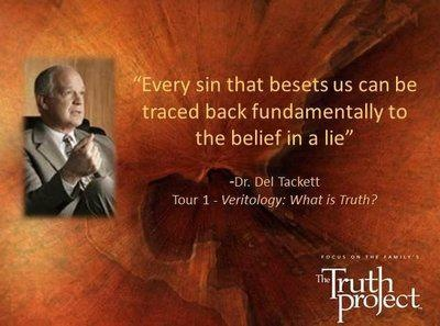 truth project lessons The truth project is a dvd-based program comprised of 12 one-hour lessons  taught by dr del tackett, a renowned christian worldview expert and professor.