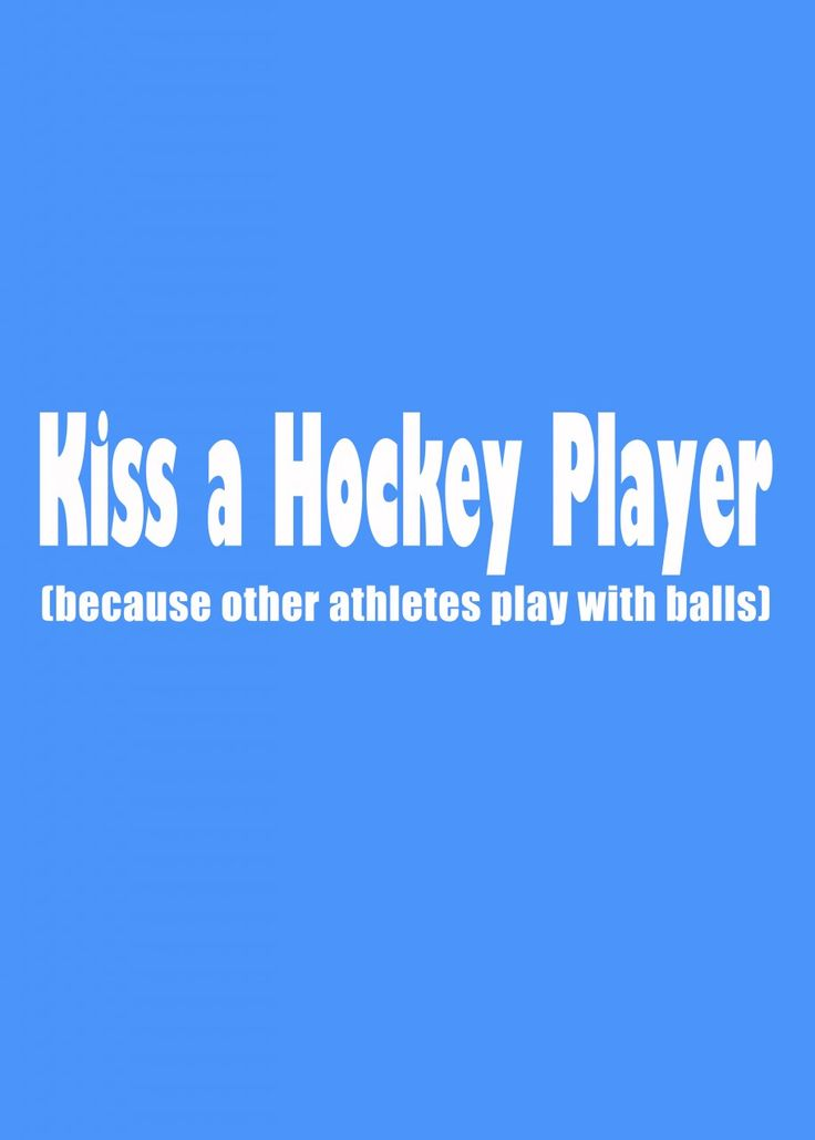 OH MY GOSH! I cannot stop pinning hockey crap!  they just keep getting better.