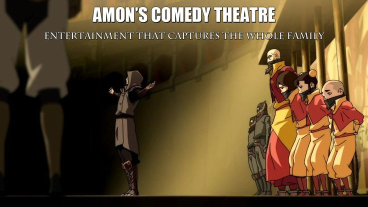 Amon's Comedy Theatre - The Legend of Korra