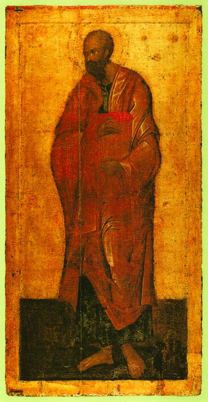 1405 г. Феофан Грек.  ПАВЕЛ.   Икона деисусного чина иконостаса..