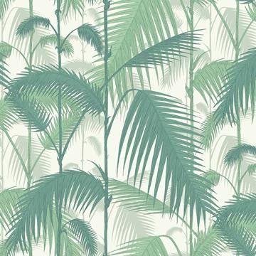 Beställ Palm Jungle blå/grön/turkos tapet från Cole & Son®