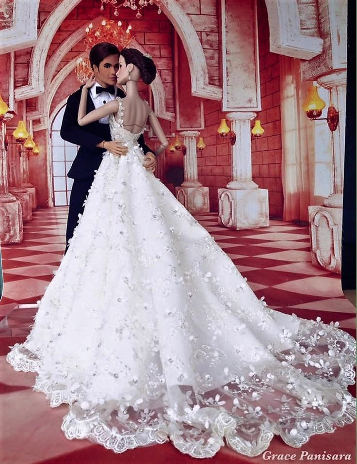 295 best Barbie/Doll Bridal Gowns & Dresses! II images on Pinterest