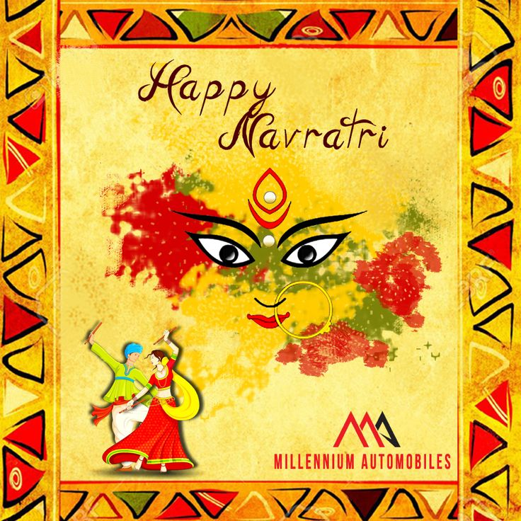 Let the celebrations begin!!  Happy Navratri..!!  #Festival #Navratri #happyNavratri #Millennium #Automobiles #CarWash #Detailing  #AutomotiveRepair #AutomotiveParts  #Accessories #MillenniumAutomobiles