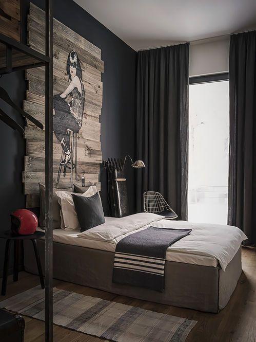 cortina cinza - quase preta