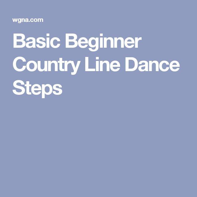 Basic Beginner Country Line Dance Steps