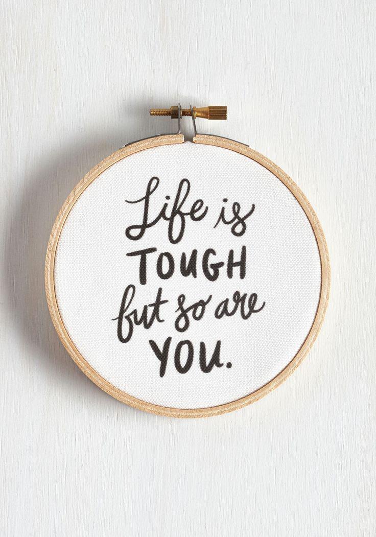 You're tougher :)
