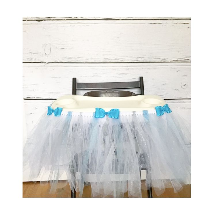Highchair Tutu for sale by Two Pink Elphadees on Etsy.com