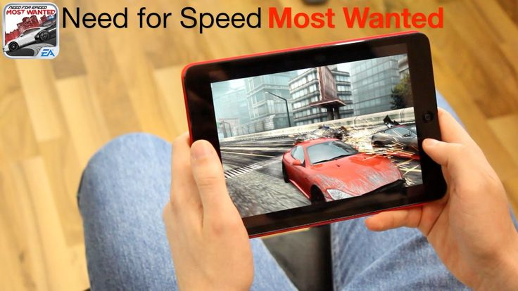 iPad mini gaming - Fifa 13 / NfS Most Wanted / Modern Combat 3 / Virtua ...