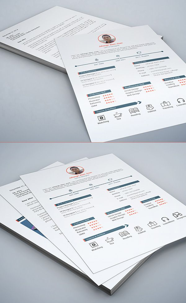 mock resume template