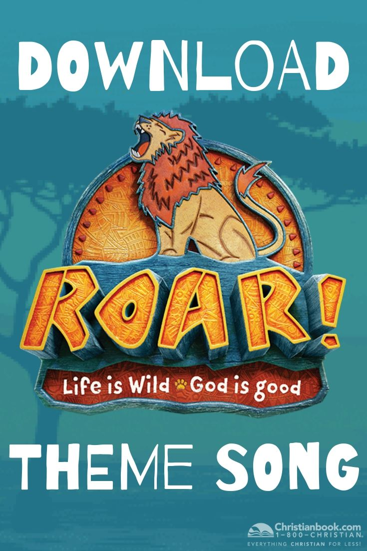 Get prepared for VBS 2019 and download the ROAR VBS 2019 theme song