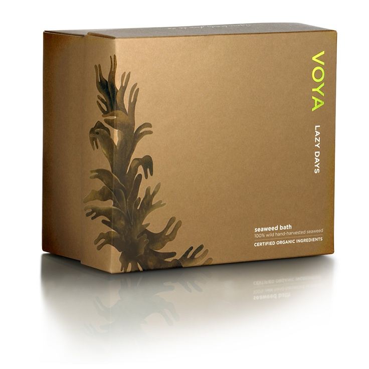 Long week? Suffering from a few aches and pains? Why not try VOYA's Lazy Days seaweed and create a spa-like experience in your own home. Seaweed can be used 2-3 days consecutively and after bathing can be used in the garden as compost! Seaweed is 100% organic.