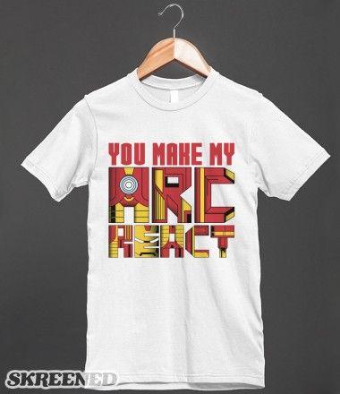 Arc React 2 iron Man $29.99