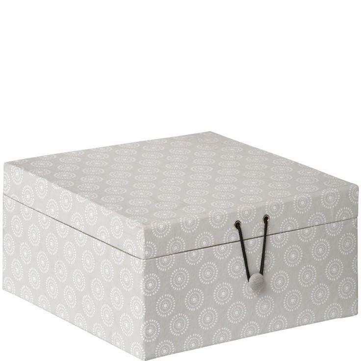 Pappbox Button
