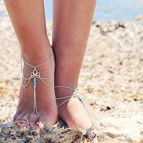 Women Vintage Multilayer Beach Barefoot Sandal Foot Tassel Jewelry Anklet Chain     Tag a friend who would love this!     FREE Shipping Worldwide     Buy one here---> http://jewelry-steals.com/products/women-vintage-multilayer-beach-barefoot-sandal-foot-tassel-jewelry-anklet-chain/    #cheap_earrings