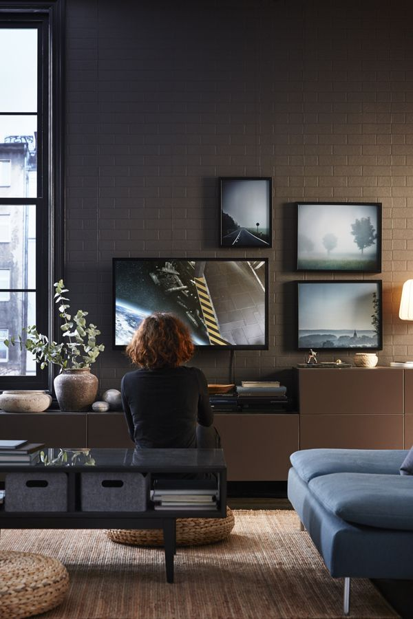 Customize Your Living Room With A Unique Combination Of TV And Media Storage The IKEA