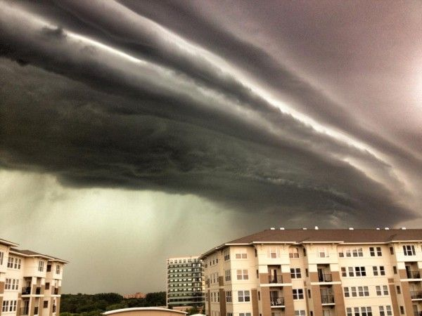 Wow, that was one heckuva storm! credit: Samuel Shea Chicago 6.29.2012