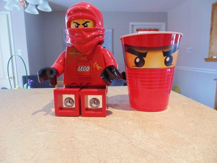 yeux imprimés sur feuille autocollante lego spy party