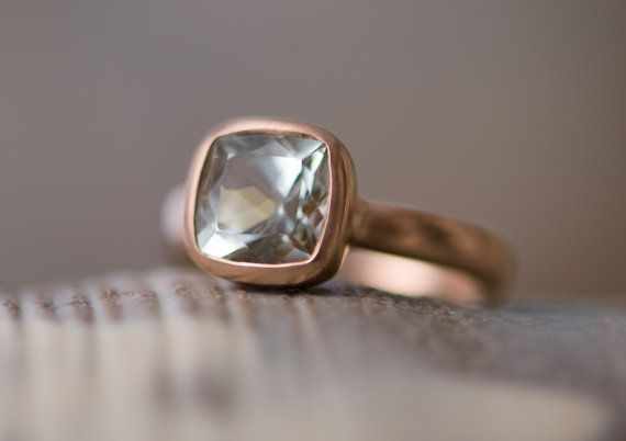 Hey, I found this really awesome Etsy listing at https://www.etsy.com/listing/200814596/rose-gold-engagement-ring-green-beryl