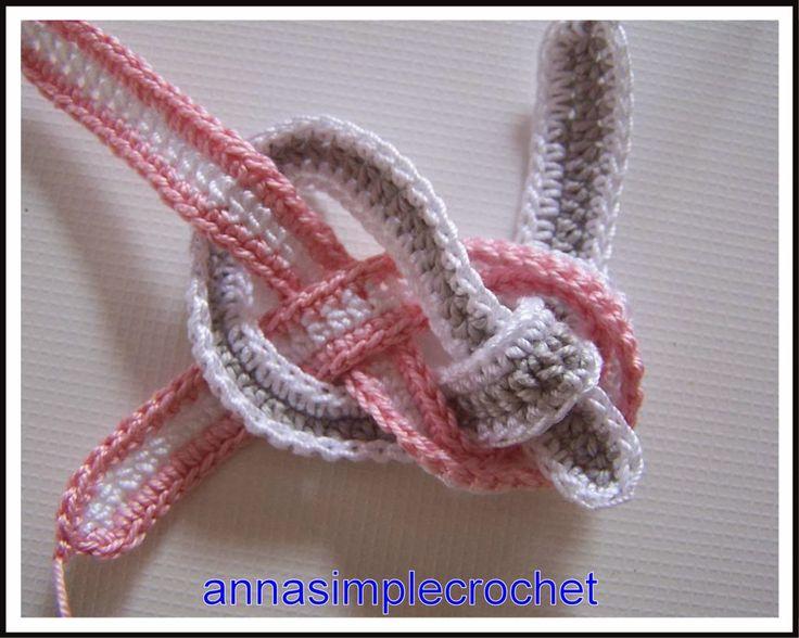Encore un mais avec tuto !     ml = corrent. en portugais = ch in english  demi-bride = meio ponto alto = half double crochet  ms = single ...