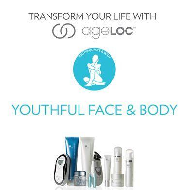 Fantastische producten voor gezicht en lijf... Zie er ook stralend en jonger uit met AgeLOC !!