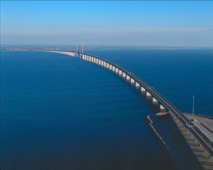 Oresund Bridge Danemark Suède