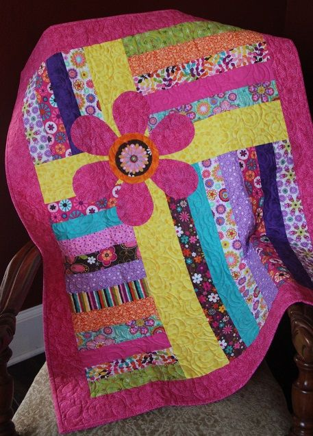 1000 Ideas About Girls Quilts On Pinterest Baby Girl