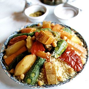 7 vegetable couscous... The only time my kids don't complain about vegies. A family favourite!