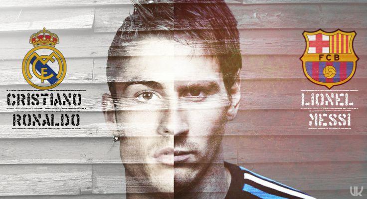 Cristiano Ronaldo y Lionel Messi en Facebook