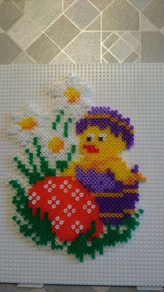 Easter hama perler beads by Susanne Damgård Sørensen